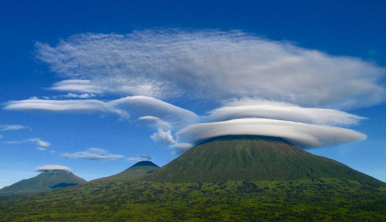 The amazing mount Karisimbi