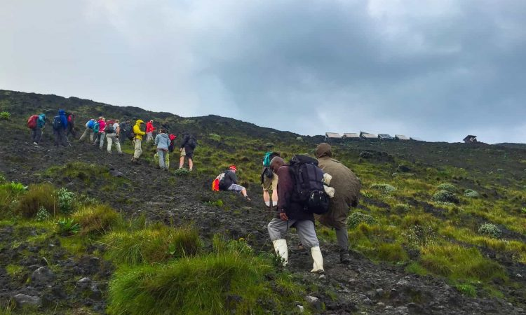 Nyiragongo Hiking