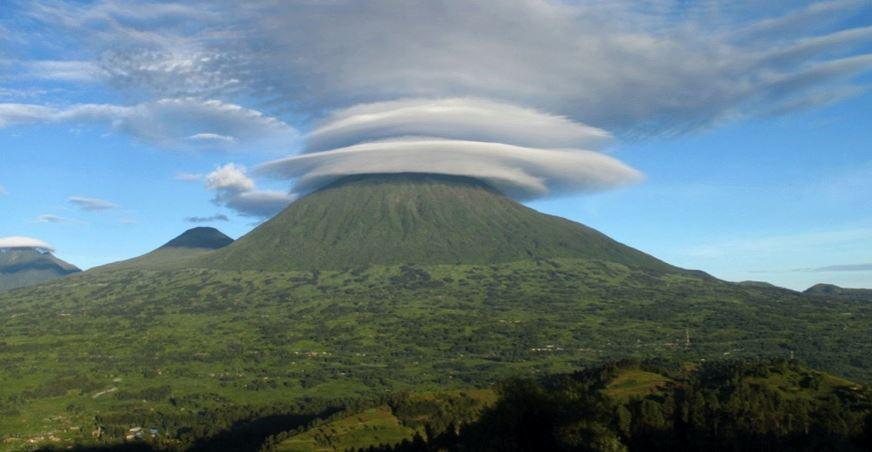 Hiking in Volcanoes National Park Rwanda