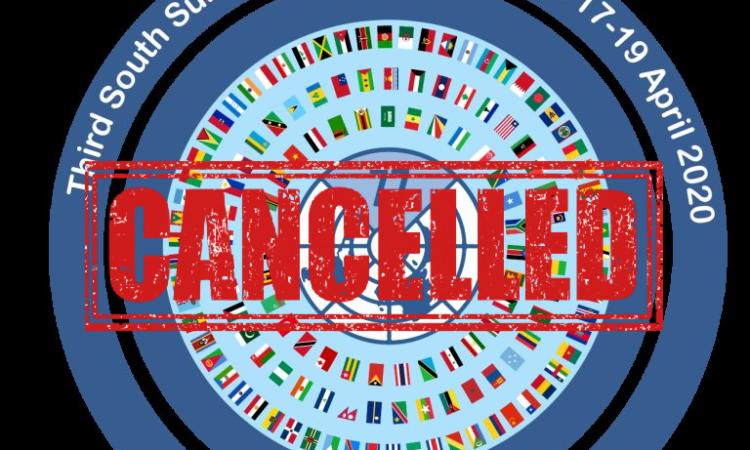 UN G77 Summit Cancelled