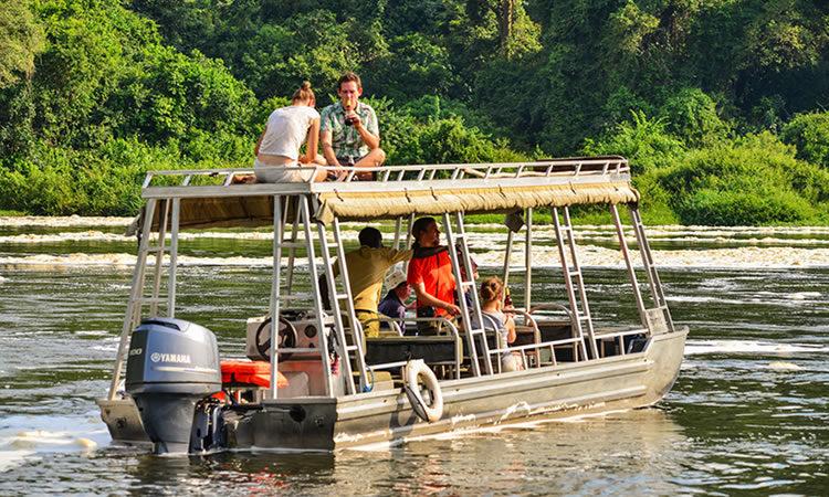 Uganda Boat ride Safaris