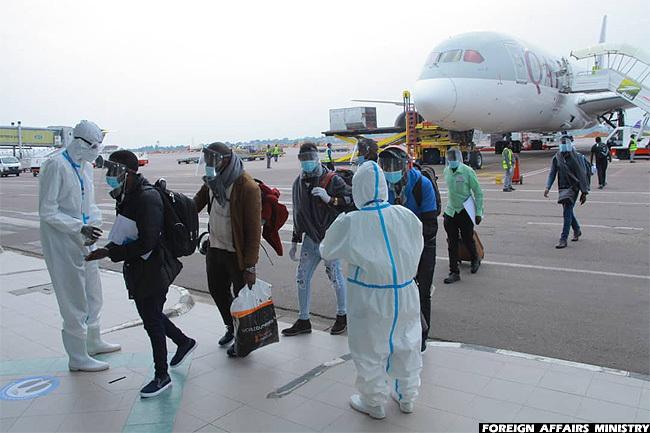 Uganda Finally opened Entebbe International Airport