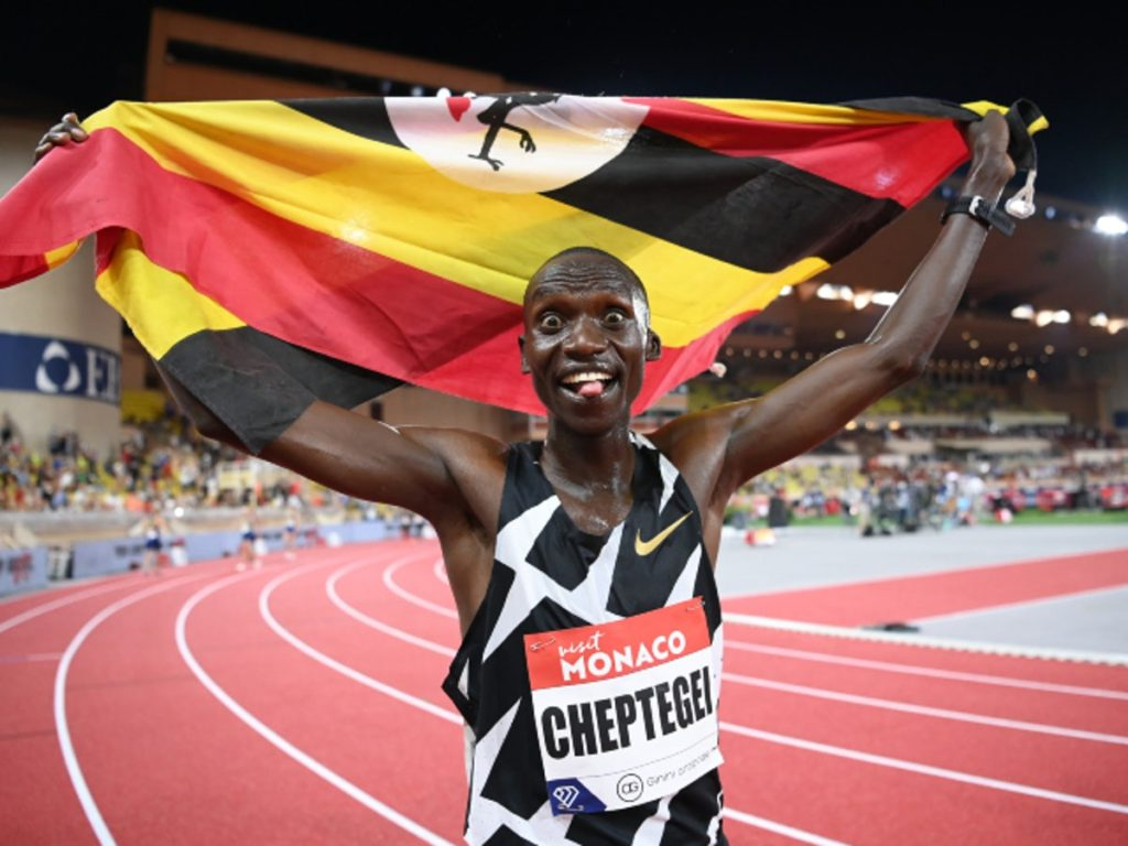 Joshua Cheptegei flagged off to Ostrava by the Uganda Tourism Board